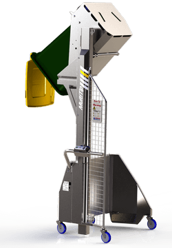 Blog image: Seven industrial problems solved by Simpro bin tippers