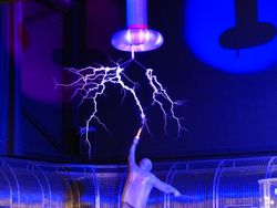 Blog image: Dr. Strangeshock (Or: How I learned to stop worrying about static electricity)