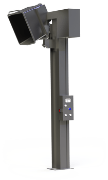Simpro EurOver column-lift bin lifter