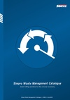Simpro Waste Management Catalogue 2019
